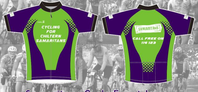 Samaritans Cycle Event Jersey