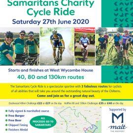 New Samaritans Cycle Poster