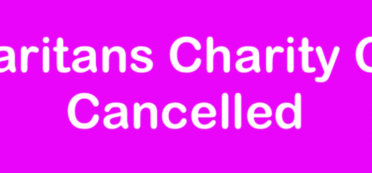 Samaritans Charity Cycle Cancelled